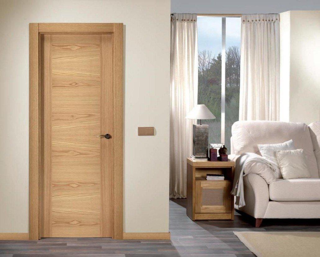 Puertas de interior lacadas y de madera for Puertas color pino