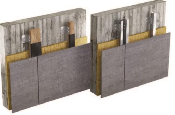 Panel Viroc utilizado en paredes