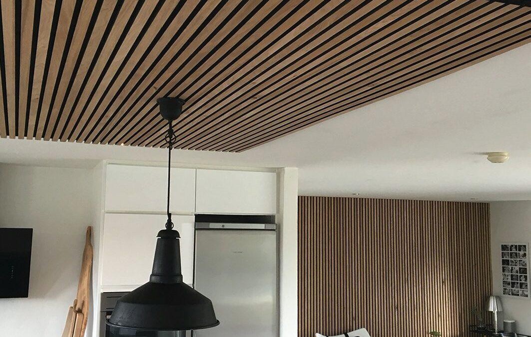 Paneles Alistonados de Madera para techos y Paredes